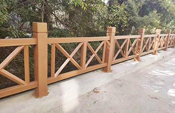 仿木护栏是如何制作而成的?
