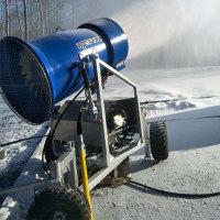 造雪机喷嘴是影响造雪质量重要因素