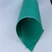 白色绿色可焊接石油化工密封衬垫pvc地板塑料板软板