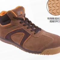 代尔塔DS系列中帮翻毛皮SIP安全鞋