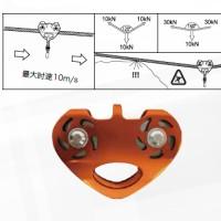 代尔塔铝制横向轴承双滑轮