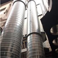 广州不锈钢螺旋风管厂供应风机排风设备机械及工业螺旋风管