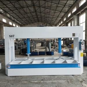 复合门冷压机 50T液压式冷压机行程1.5米 钢木门冷压机报价单
