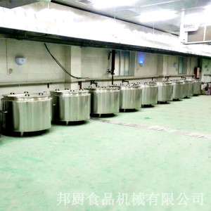 中央廚房自動化設備-行星攪拌炒鍋定做?