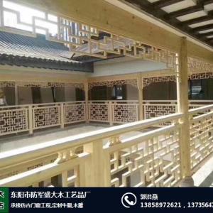 金華木雕仿古門窗廠家暢銷全國