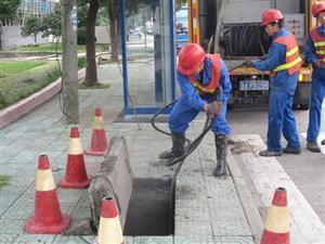 蕭山區河莊街道工廠污水管道疏通