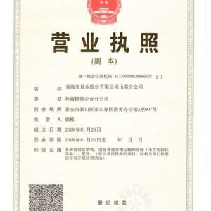 茶卡盐-青海盐业