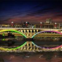 蚌埠市夜景工程亮化 户外工程亮化 行业资讯