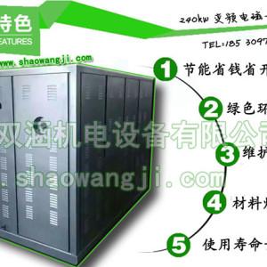 溫縣塑料電磁加熱 注塑加熱節能改造 雙涵電磁采暖器