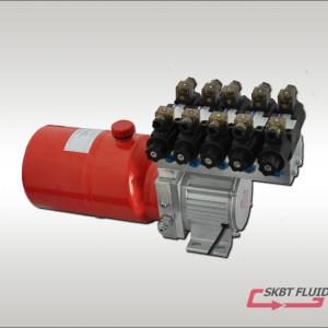 48V1000W環衛車液壓動力單元