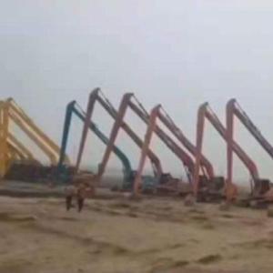 18米長臂挖機出租服務