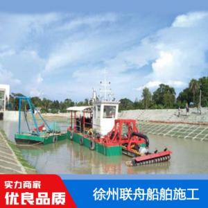 水下泵螺旋清淤船