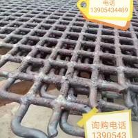 锰钢焊接矿山振动筛网