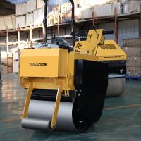 萨奥SYL-600手扶单轮小型振动冲击式压路机厂家