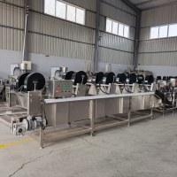 旭邦4000型商用杀菌风干机 节能强流风干机 山楂卷风干线