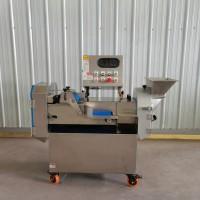 旭邦多功能双头切菜机 商用药材切片机 大型蔬果加工设备