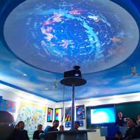 百諾 多媒體天文演示穹頂 天文圓頂 球幕廠家定制