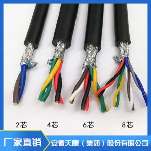 銅絲屏蔽控制電纜