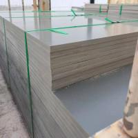 灰色PVC塑料硬板 模壓板 PVC塑料板整板批發 灰色PVC板材加工