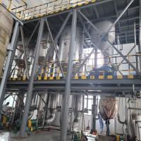 現貨處理一套5噸三效強制循環蒸發器