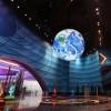 深圳百諾 展館用太空地球儀 主題展示 懸吊地球儀