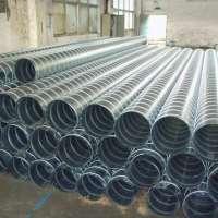 厂家直销镀锌白铁圆风管 螺旋风管 排风排烟除尘换气耐高温风管